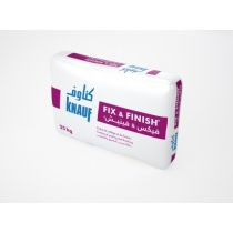 Enduit mince de finition Knauf Fix & Finish