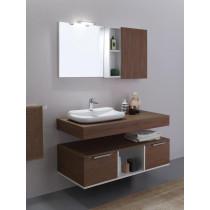 Meuble Salle de bain MILANO 120 + Miroir