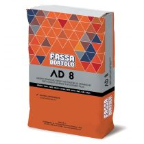 MORTIER COLLE ADHESIF AD8 GRIS (25kg) FASSA