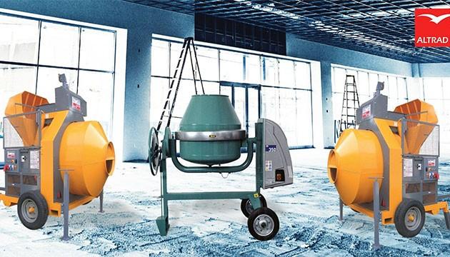 Les bétonnières un must pour vos chantiers