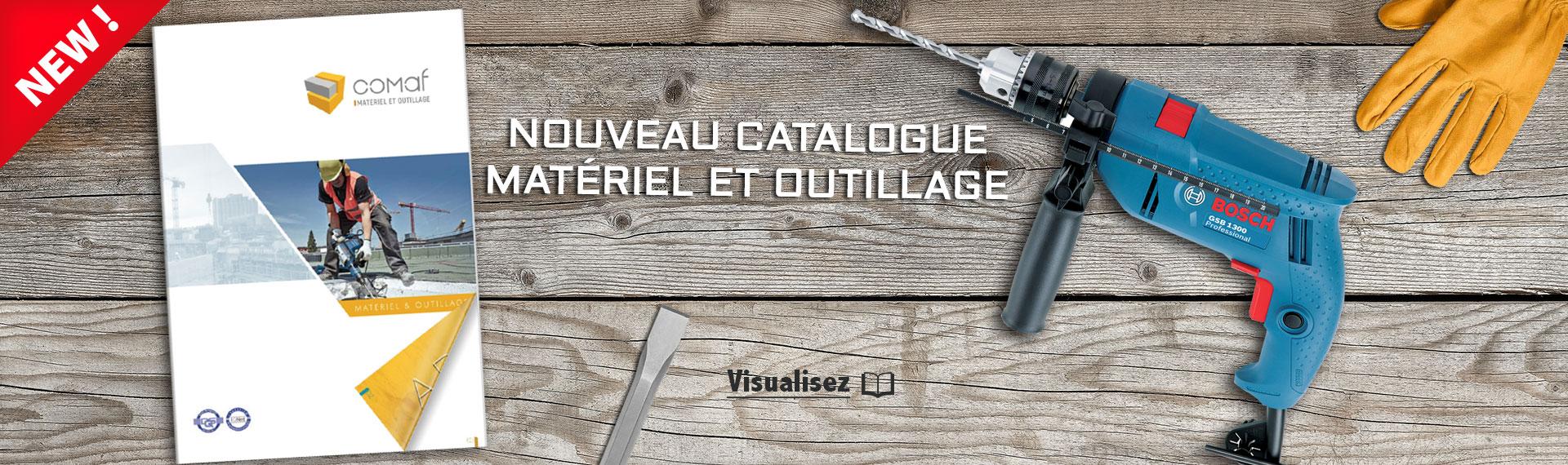 Catalogue Matériel et outillage